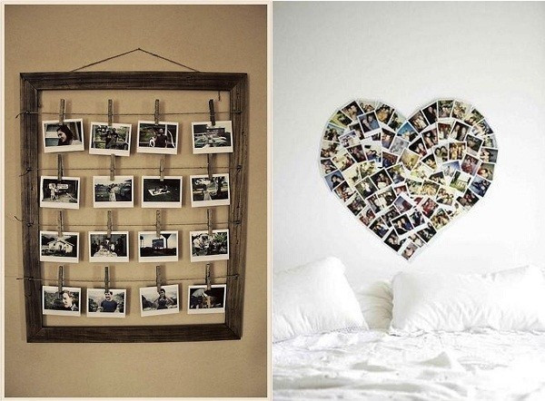 Adornos De Pared originales atractivo Decoracion Con Fotografias Of Adornos De Pared originales Único Ideas originales Para La Decoración De Salón Para Bodas