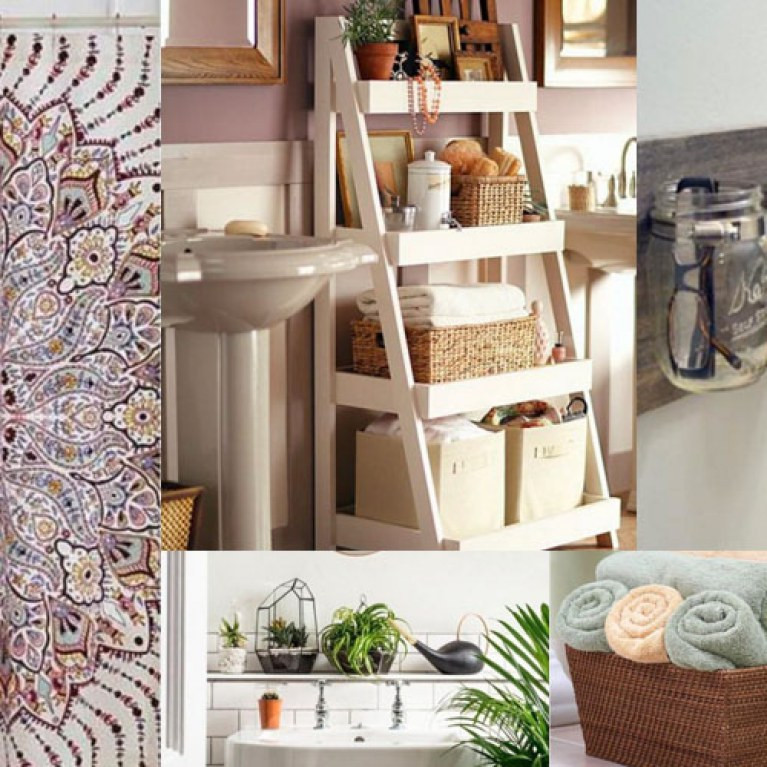 Adornos De Pared originales Maravilloso 20 Ideas originales Para Transformar Tu Baño Of Adornos De Pared originales Encantador Decoración Para Colgar 50 Años Decoración Y Disfraces