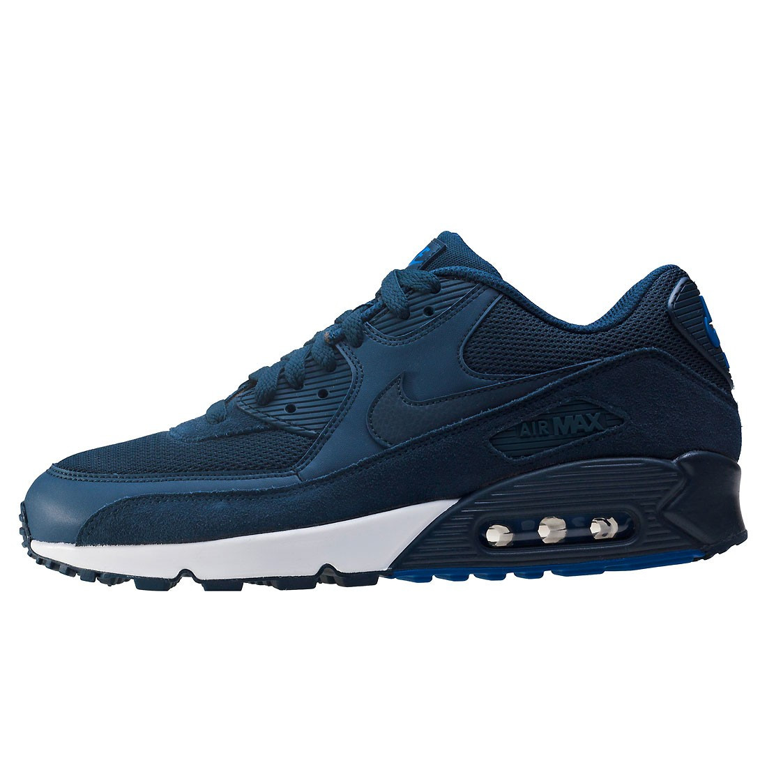 Air Max 90 Essential Adorable Nike Air Max 90 Essential Mens Trainers In Navy Of 36  Adorable Air Max 90 Essential