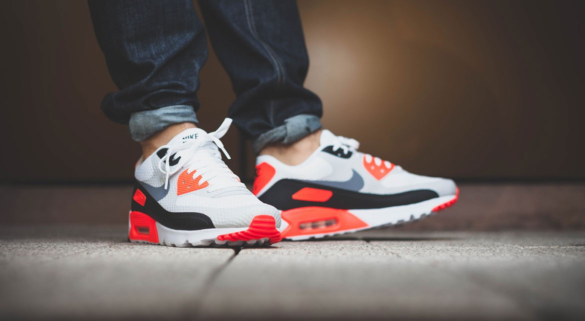 nike air max 90 ultra essential infrared more images