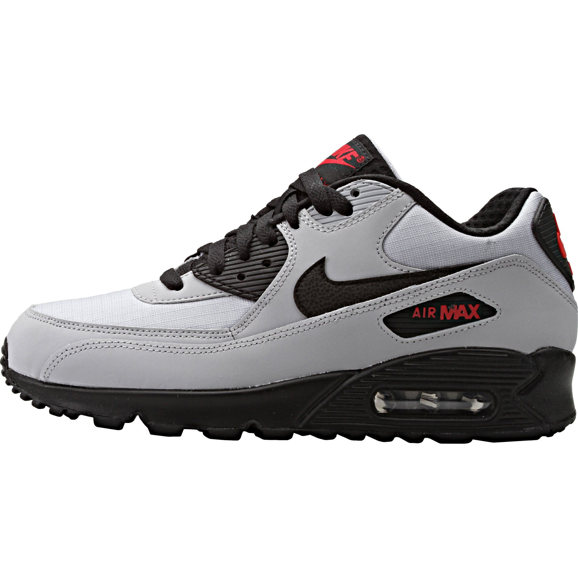 Air Max 90 Essential Encantador Nike Air Max 90 Essential Grey Black Red Lanarkunitedfc Of 36  Adorable Air Max 90 Essential