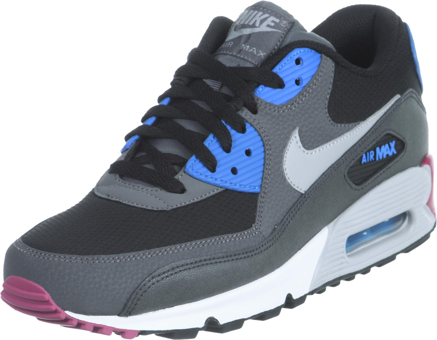 Air Max 90 Essential Impresionante Nike Air Max 90 Essential Schuhe Schwarz Grau Blau Im Of 36  Adorable Air Max 90 Essential