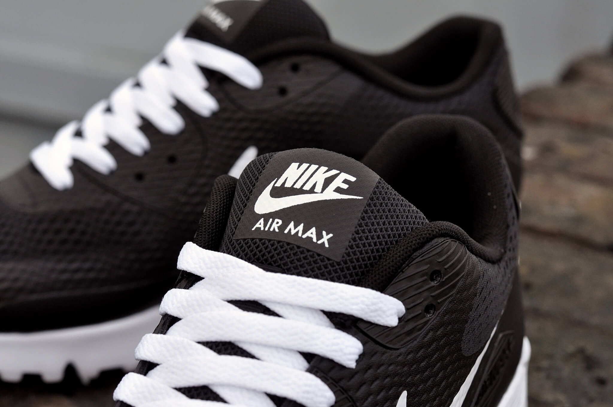 Air Max 90 Essential Nuevo Nike Air Max 90 Ultra Essential Black White Graysands Of 36  Adorable Air Max 90 Essential