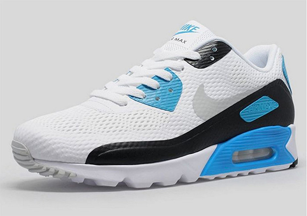 Air Max 90 Essential Único Nike Air Max 90 Essential Blue Of 36  Adorable Air Max 90 Essential