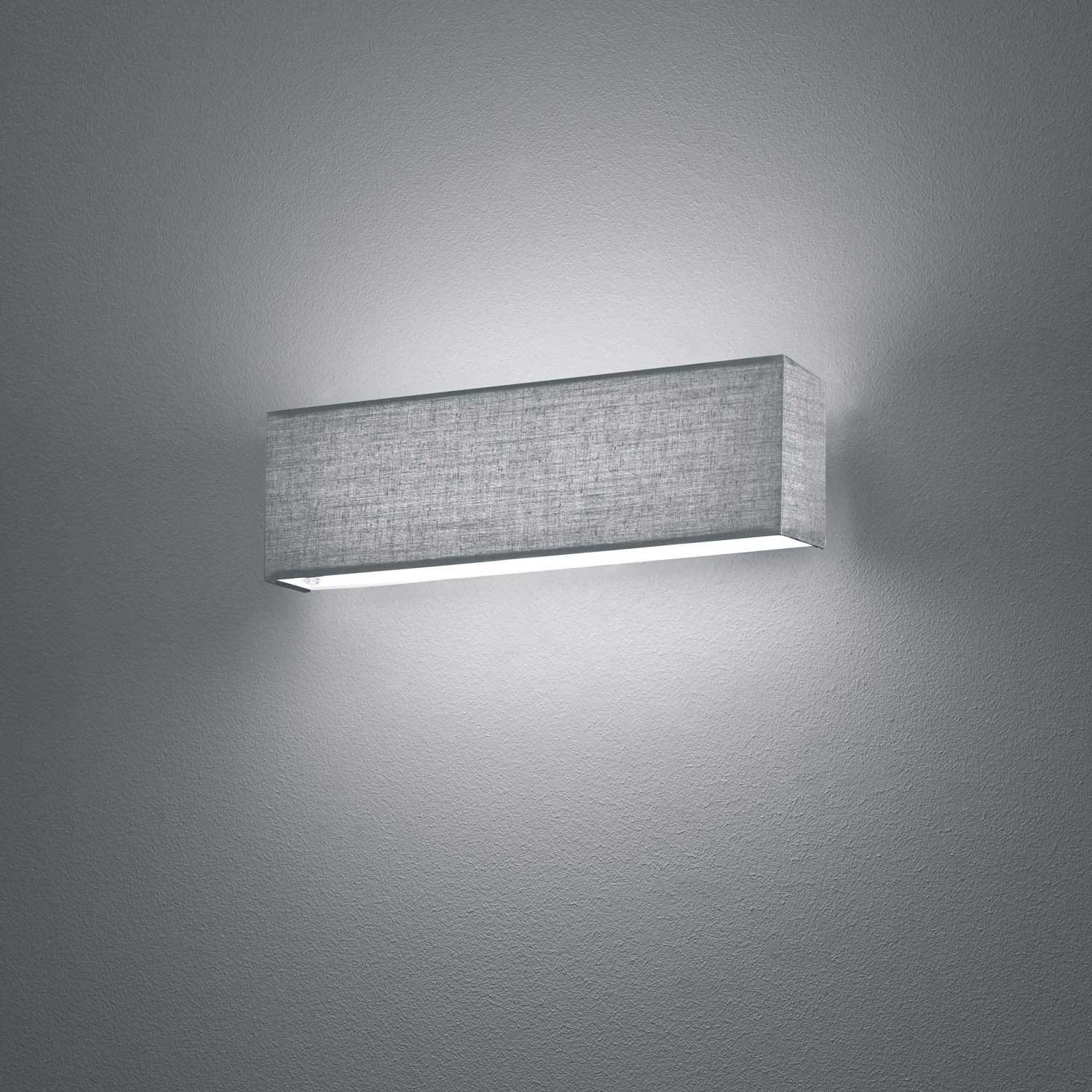 Apliques De Pared Vintage Mejor Aplique De Pared Led Carlo 6w Gris Luzete Of 37  Increíble Apliques De Pared Vintage