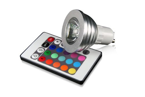 technaxx rgb illa led varios colores con mando distancia 100 240