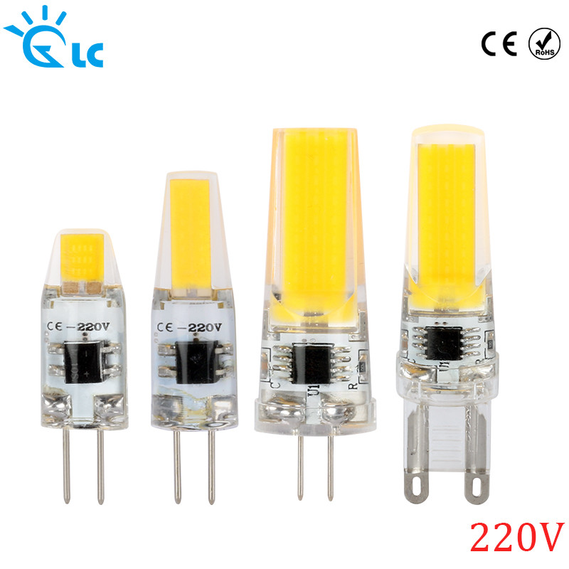 Bombilla G4 Led 220v Magnífico Led G9 G4 Cob Smd 220v 230v 240v Lamp Dimmable Bulb for Of 41  Maravilloso Bombilla G4 Led 220v