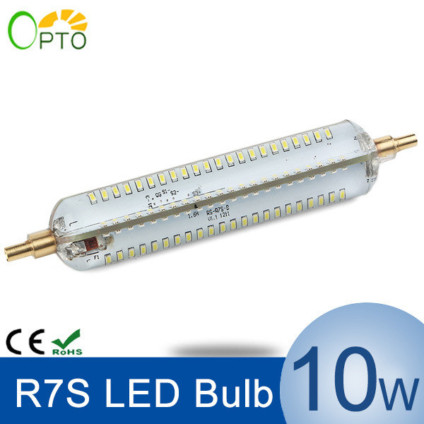 Bombilla Led R7s 118mm Gran Led R7s 118mm Ampoule Led R7s Dimmable Slim 118mm 10w Of 36  Encantador Bombilla Led R7s 118mm