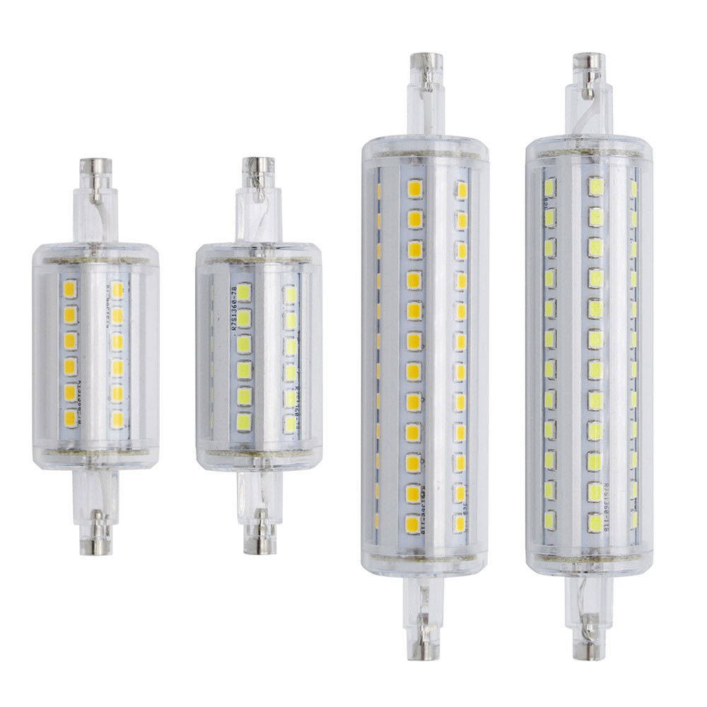 Bombilla Led R7s 78mm atractivo Newest Dimmable R7s Bulb 220v 15w 78mm 25w 118mm Bombillas Of Bombilla Led R7s 78mm Increíble R7s Led 118mm 78mm 189mm Smd5730 Bombillas Led R7s 15w 25w