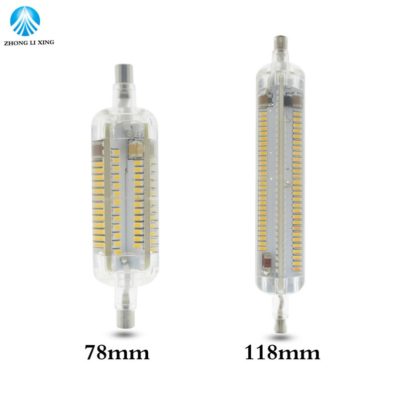 Bombilla Led R7s 78mm Brillante R7s Bombillas Led Lamp 10w 20w Smd 4014 78mm 118mm Led R7s Of 32  Nuevo Bombilla Led R7s 78mm