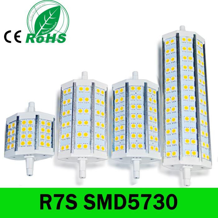 R7S LED 118mm 78mm 189mm SMD5730 Bombillas LED R7S 15W 25W