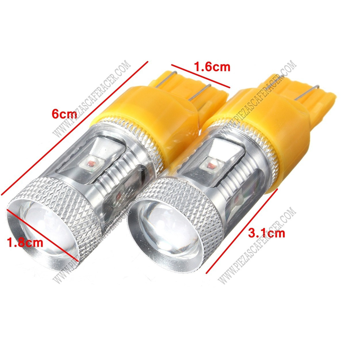 Bombillas De Led Para Coche Mejor Bombillas Led De Recambio 30w 7443 7440 Para Luces Of Bombillas De Led Para Coche Lujo Pareja De Illas Led Para Parasoles C5w Festoon