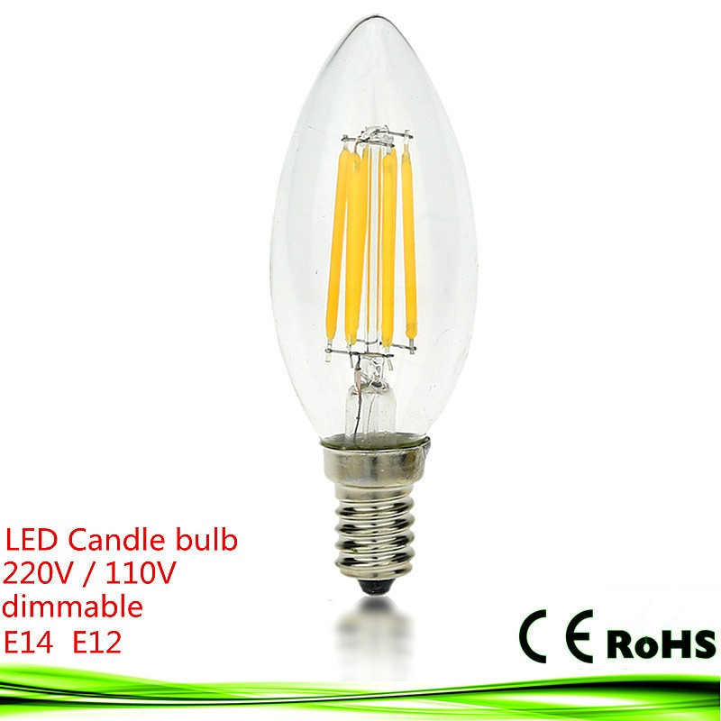 Bombillas Led E14 10w Perfecto New Led E14 Bulb 4w 6w 9w E12 E27 220v 110v Dimmable Of 43  Magnífico Bombillas Led E14 10w