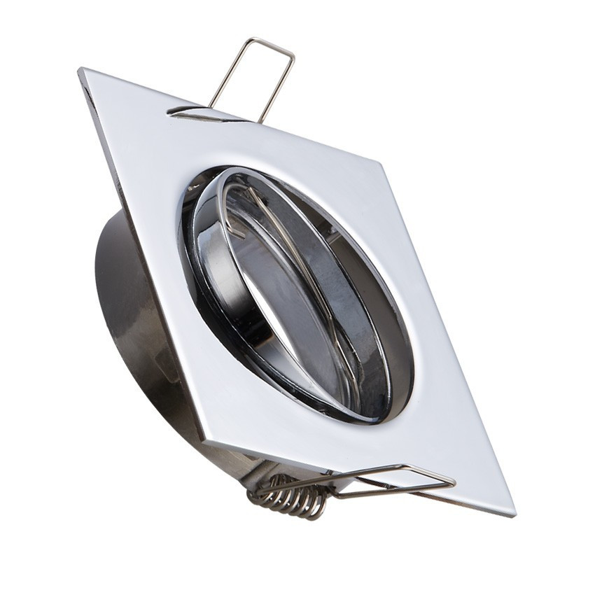 Bombillas Led Para Downlight Arriba Bombillas Led ★aro Downlight Cuadrado Basculante 83mm Of 42  Fresco Bombillas Led Para Downlight
