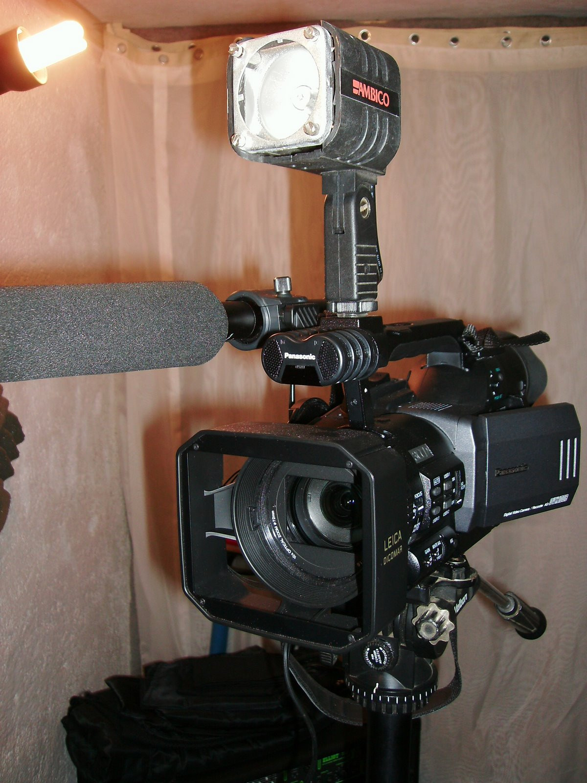 camara de video profesional panasonic ag dvx100b