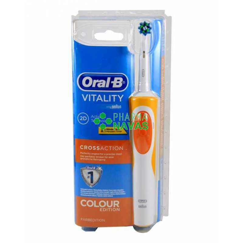 Cepillo Electrico oral B Gran oral B Vitality Crossaction Cepillo Eléctrico Of Cepillo Electrico oral B Único Braun oral B Vitality Crossaction