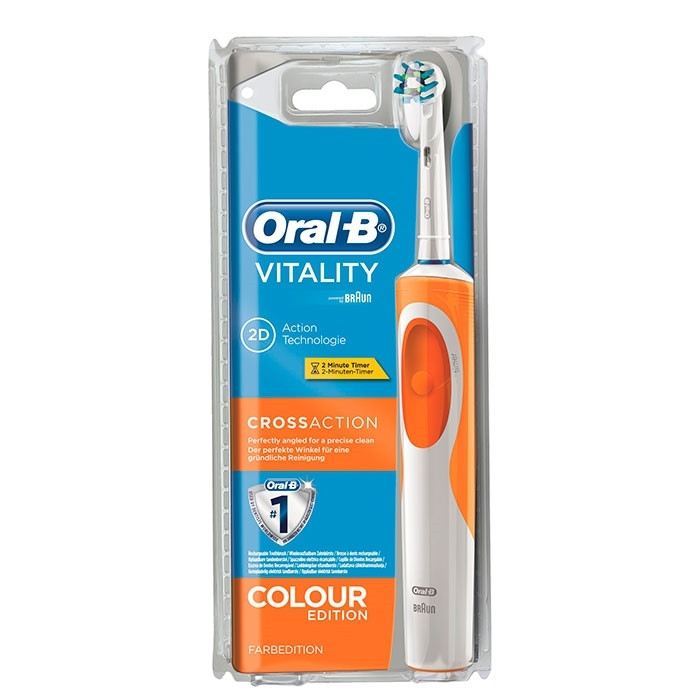 Cepillo Electrico oral B Impresionante oral B Vitality Crossaction Cepillo Eléctrico Paco Of Cepillo Electrico oral B Magnífica Cepillo Dental Eléctrico Braun oral B Mickey Mouse