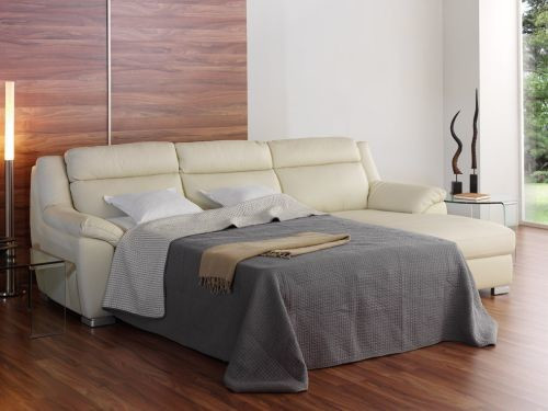 Chaise Longue Cama Baratos Encantador sofa Chaise Longue Cama En Piel Italiana Color Crema Mod Of Chaise Longue Cama Baratos Contemporáneo sofás Con Chaise Longue sofás Modernos