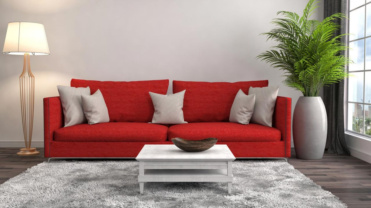 galeria binar sofa color rojo
