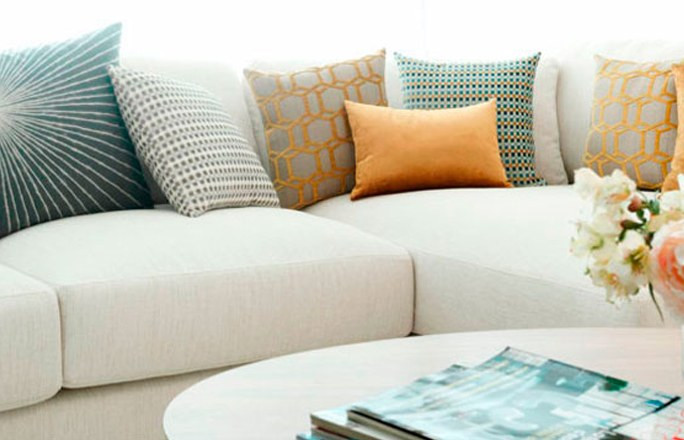 decoracion cojines sofa d c