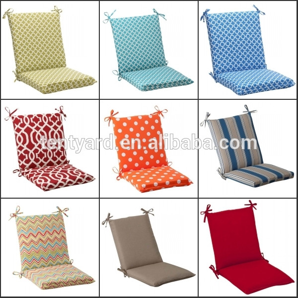 custom design print geometric outdoor chair cushion for garden furniture