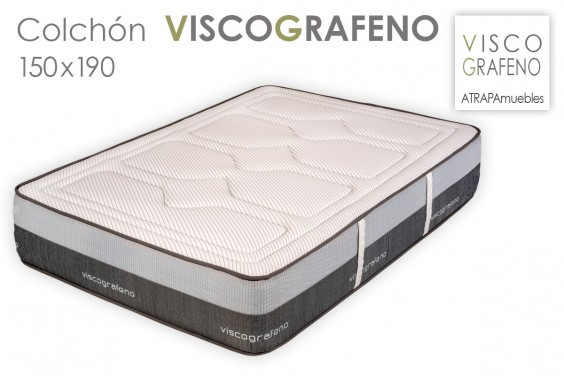 972 colchon visco grafeno 150x190