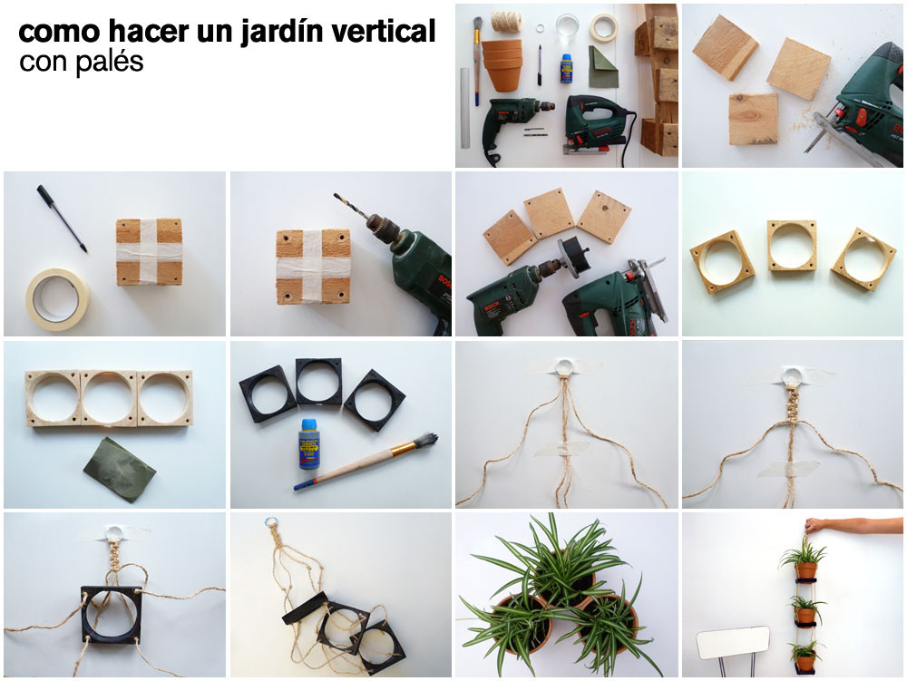 do it yourself 03 o hacer un jardin vertical con pallets