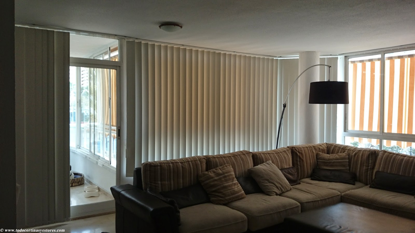 Decoracion Interior Cortinas Verticales Estores