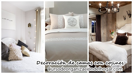 ideas para decorar tu cama con cojines 2