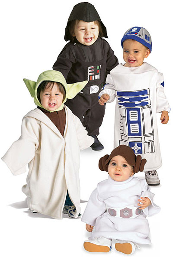 Disfraz Star Wars Niño atractivo Little Star Wars Costumes Disfraces Para Los Niños De Las Of 50  Lujo Disfraz Star Wars Niño