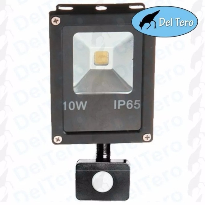 Foco Led Con Sensor De Movimiento Increíble Foco Led Smd 10 Watts Con Sensor De Movimiento 12 Meses Of 42  Magnífica Foco Led Con Sensor De Movimiento