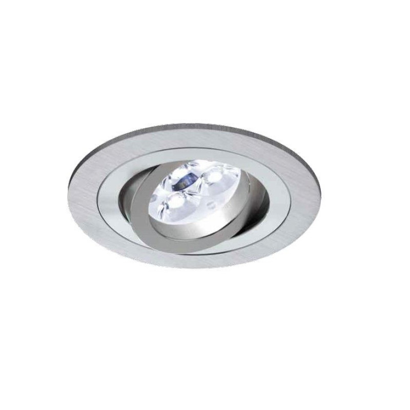 Focos Empotrables Led Techo Impresionante Foco Empotrable Led 6w Circular Aluminio Basculante Of 49  Perfecto Focos Empotrables Led Techo