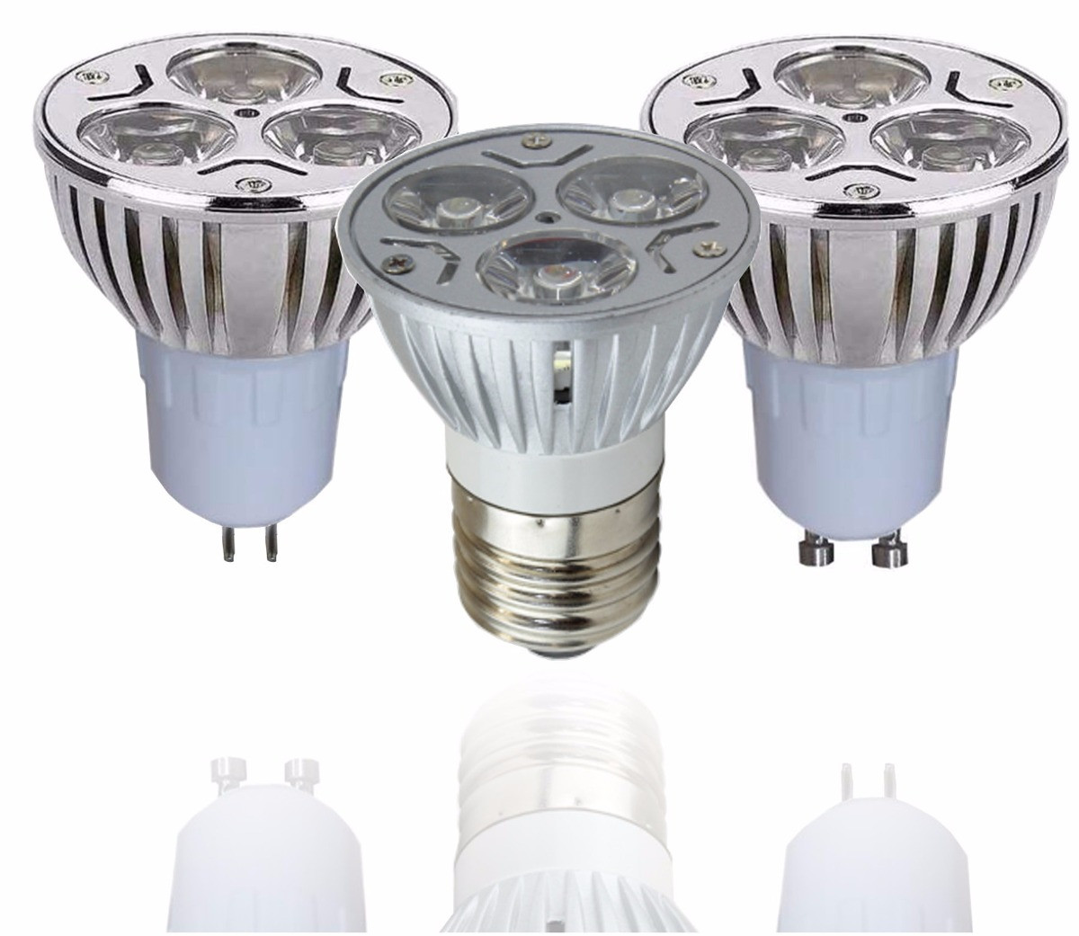 Focos Led Empotrables Extraplanos Contemporáneo Foco Led Dicroico E27 Y Mr16 De 3w 127 Watts $ 35 00 En Of Focos Led Empotrables Extraplanos Innovador Pra Juego De 3 Focos Led Empotrables En Techo andrej