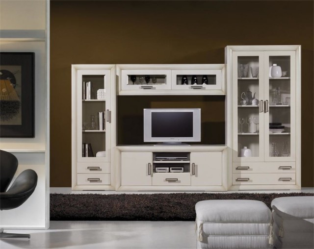 mueble modular salon contemporaneo