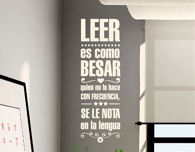 Frases En La Pared Decoracion Único Decoración De Paredes Con Vinilos Con Textos Y Frases Of 36  Gran Frases En La Pared Decoracion