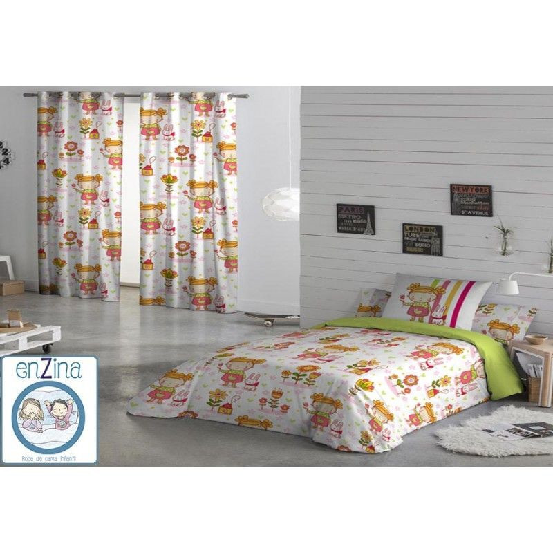 Funda nordica Infantil Cama 90 Fresco Funda Nórdica Candy Girl De Naturals 90 Cm 3 Piezas Of Funda nordica Infantil Cama 90 Nuevo Fundas nordicas Infantil Ideas De Disenos Ciboney