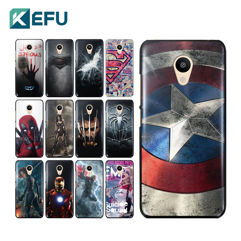 Funda nordica Super Heroes Innovador for Coque Meizu M3s Case Super Heroes Hard Pc Cover for Of 47  atractivo Funda nordica Super Heroes