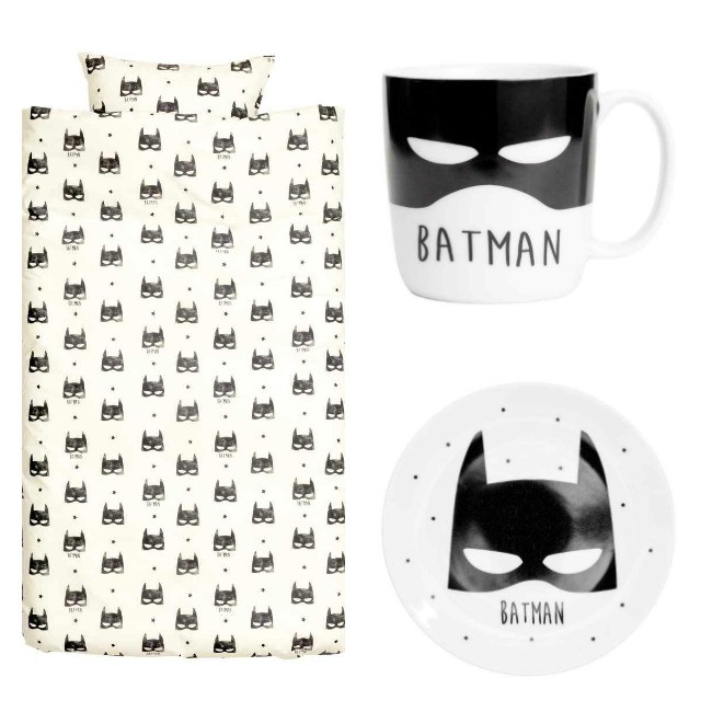 Funda nordica Super Heroes Mejor Diseño Batman En H&m Decoración Infantil Decoideas Of 47  atractivo Funda nordica Super Heroes