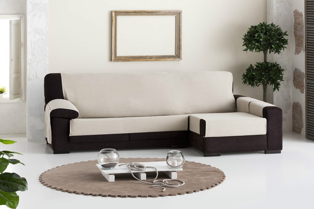 Funda sofa Chaise Longue Adorable Funda De sofá Chaise Longue Constanza Eysa Of 37  Innovador Funda sofa Chaise Longue