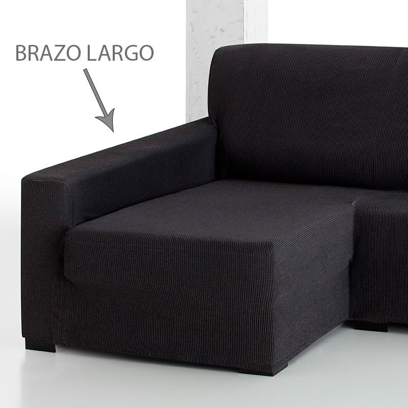 Fundas De sofa Chaise Longue Contemporáneo Funda De sofá Chaise Longue Elástica Strada Of 42  Brillante Fundas De sofa Chaise Longue