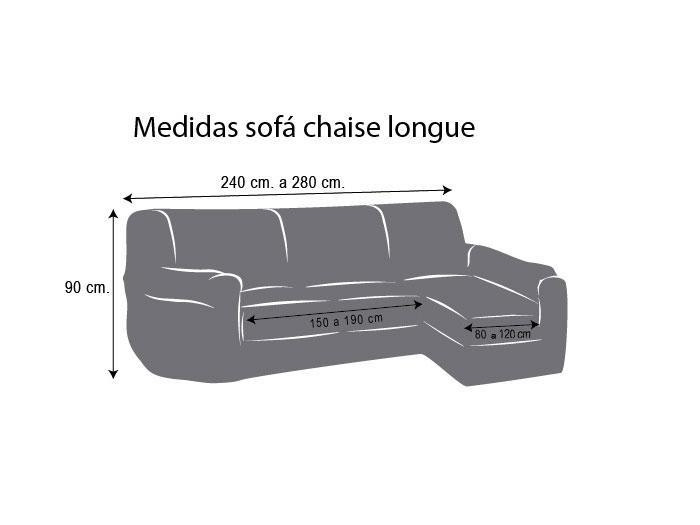 Fundas De sofa Chaise Longue Mejor Funda Chaise Longue Ajustable Viena Prar Funda Chaise Of 42  Brillante Fundas De sofa Chaise Longue