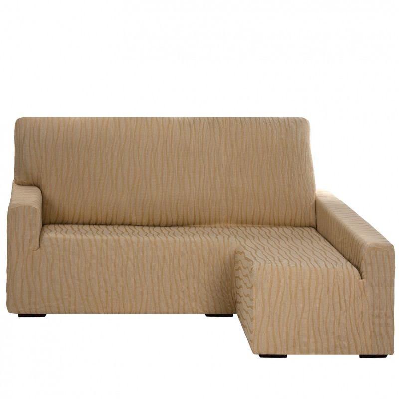 Fundas De sofa Chaise Longue Único Funda sofá Chaise Longue Brazo Largo Elástica Casandra Of 42  Brillante Fundas De sofa Chaise Longue