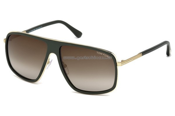 Gafas tom ford Hombre Brillante Qmyj206p2ig6 Gafas De sol Hombre tom ford Ft0463 98k Moda Of 38  Adorable Gafas tom ford Hombre