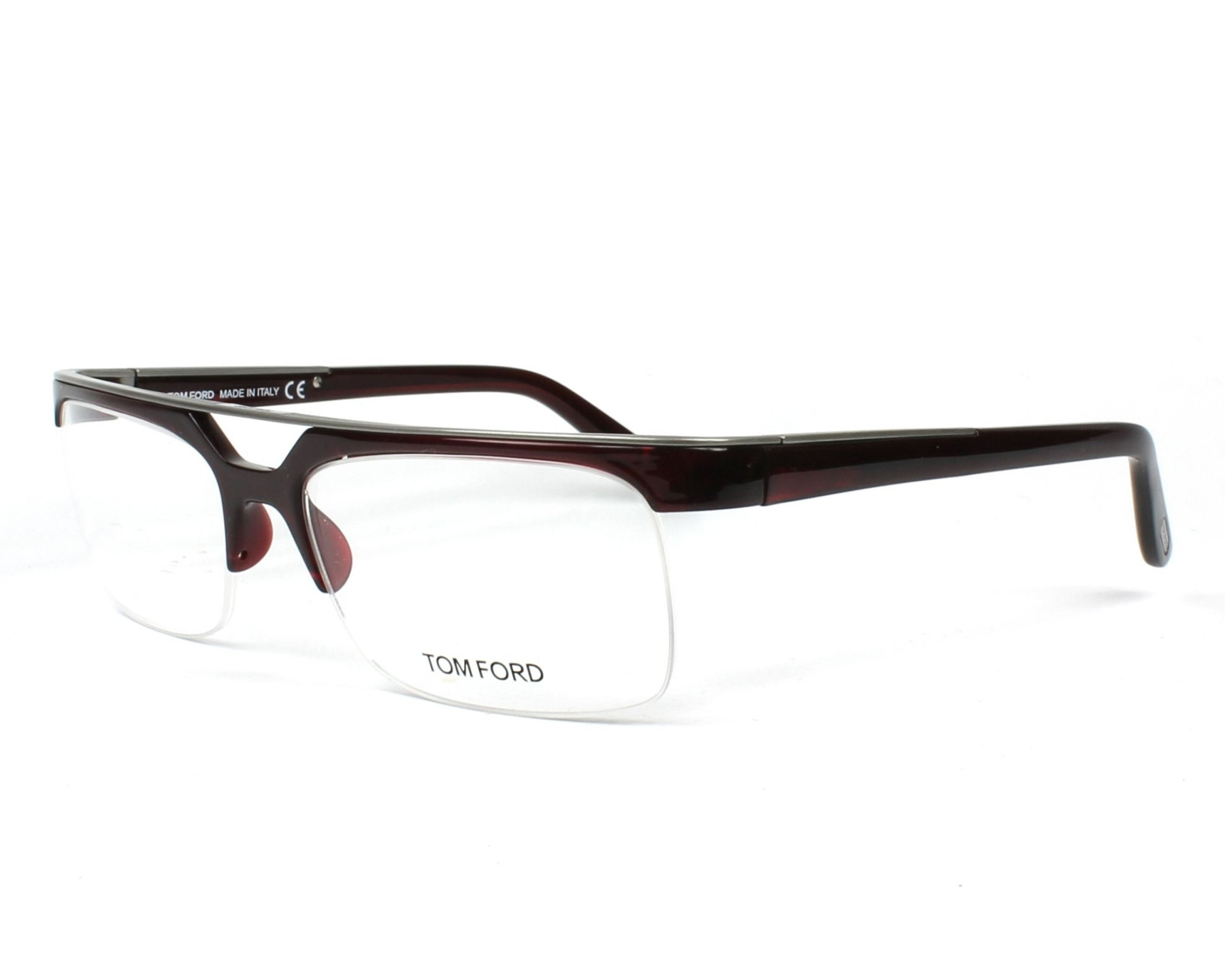 Gafas tom ford Hombre Maravilloso Hombre Gafas Graduadas tom ford Tf 5069 211 Bordeaux Gun Of 38  Adorable Gafas tom ford Hombre