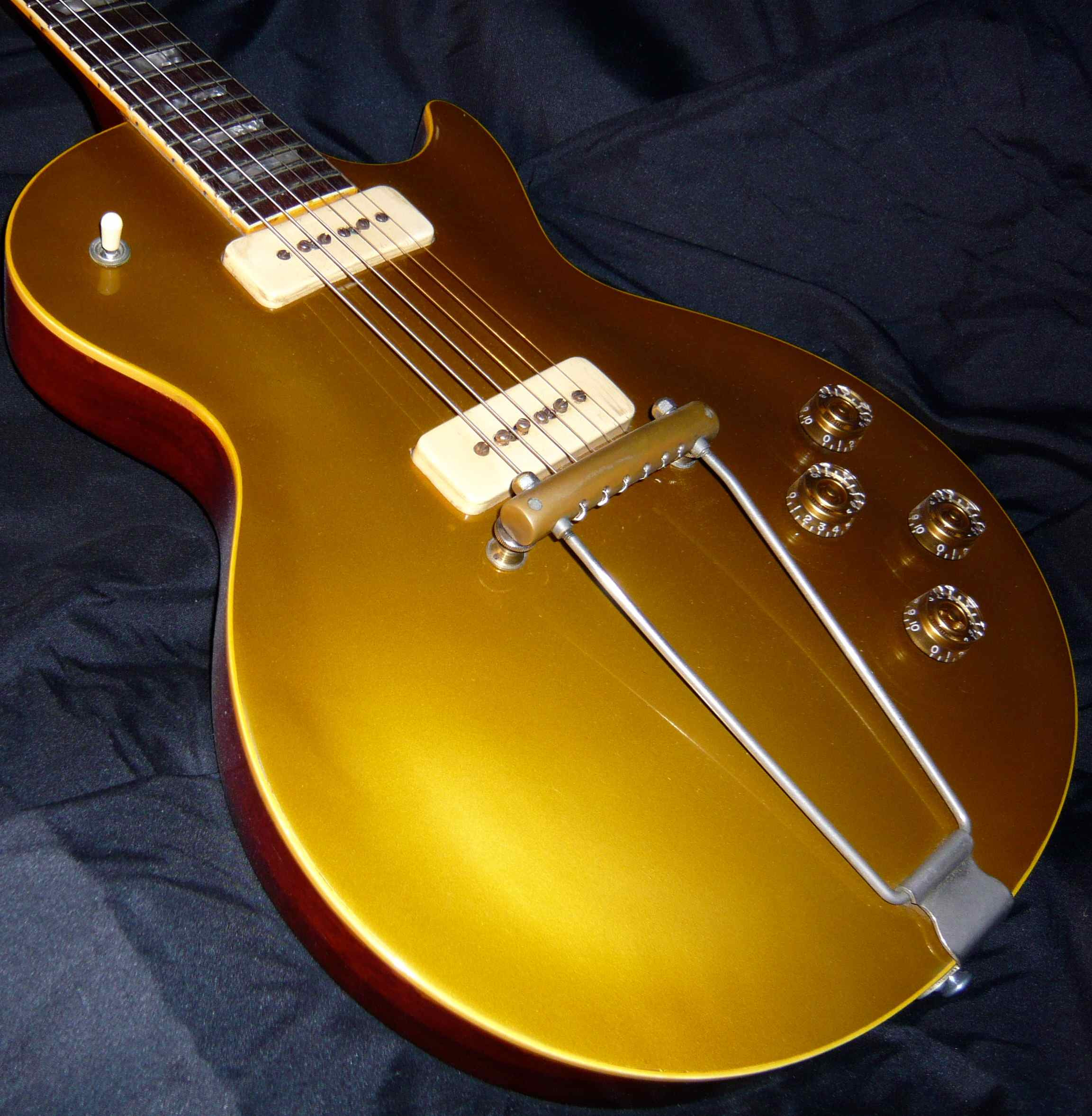 Gibson Les Paul Gold top Nuevo Gibson Les Paul Goldtop 1952 Peter Green Duster Of 45  Innovador Gibson Les Paul Gold top