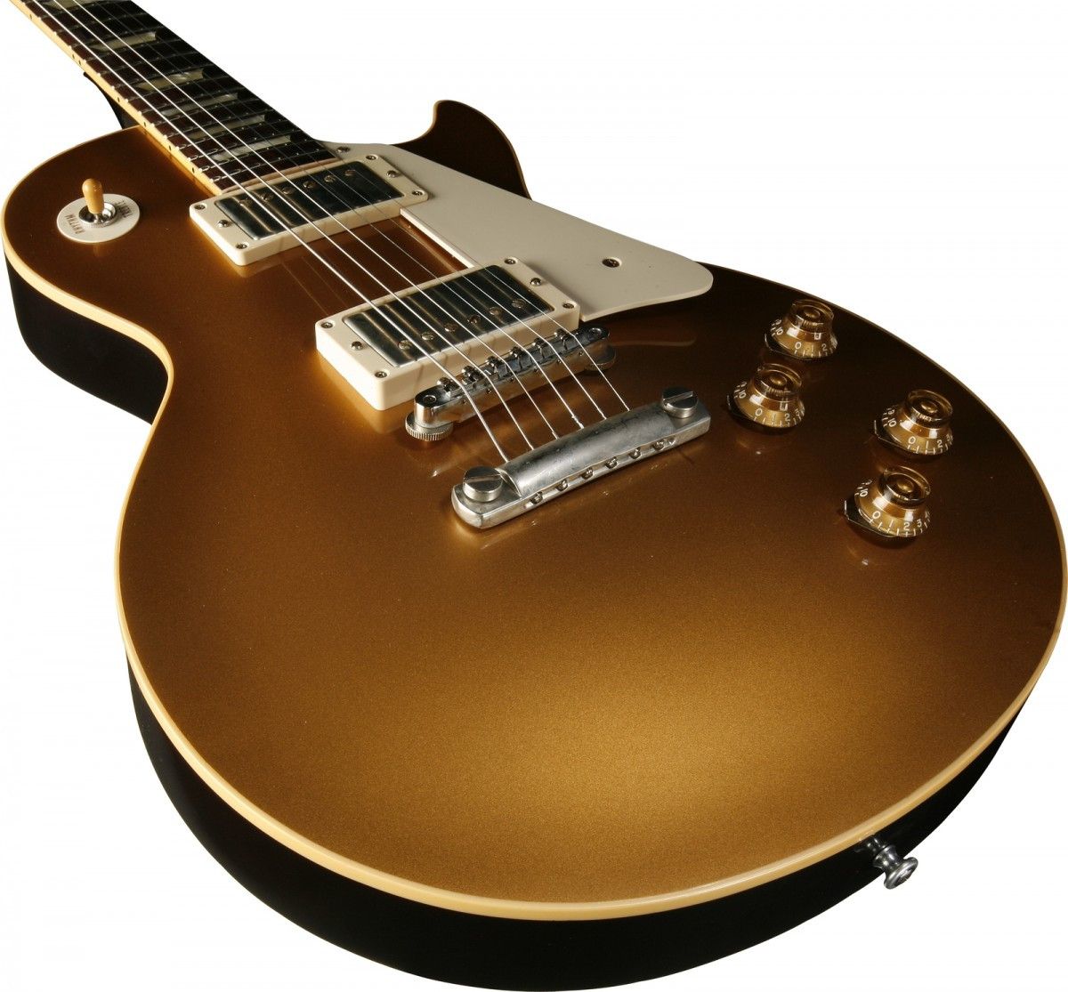 Gibson Les Paul Gold top Perfecto Gibson Les Paul Gold top 1957 Custom Shop Vos Antique Of 45  Innovador Gibson Les Paul Gold top