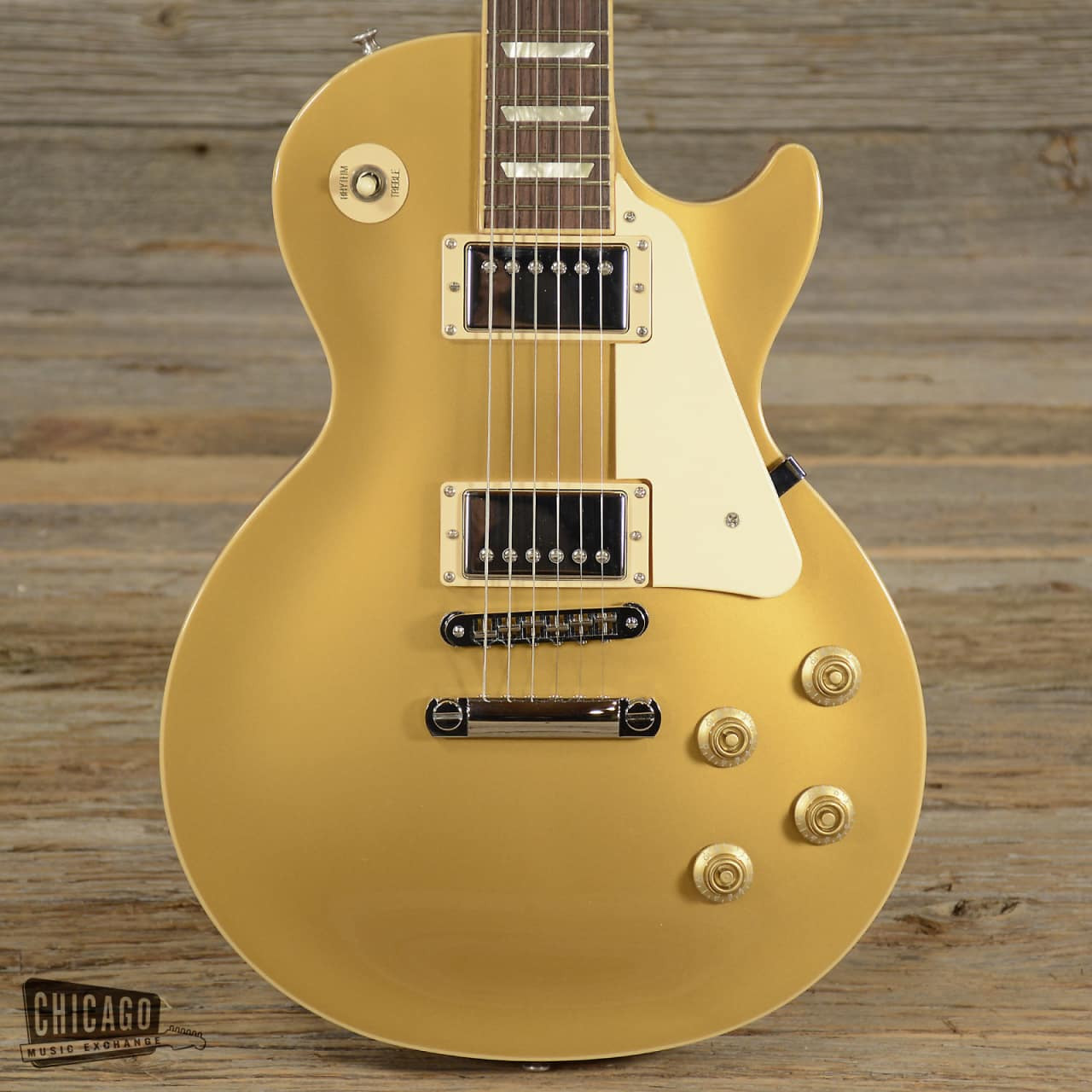 Gibson Les Paul Gold top Único Gibson Les Paul Traditional Gold top 2009 S658 Of 45  Innovador Gibson Les Paul Gold top