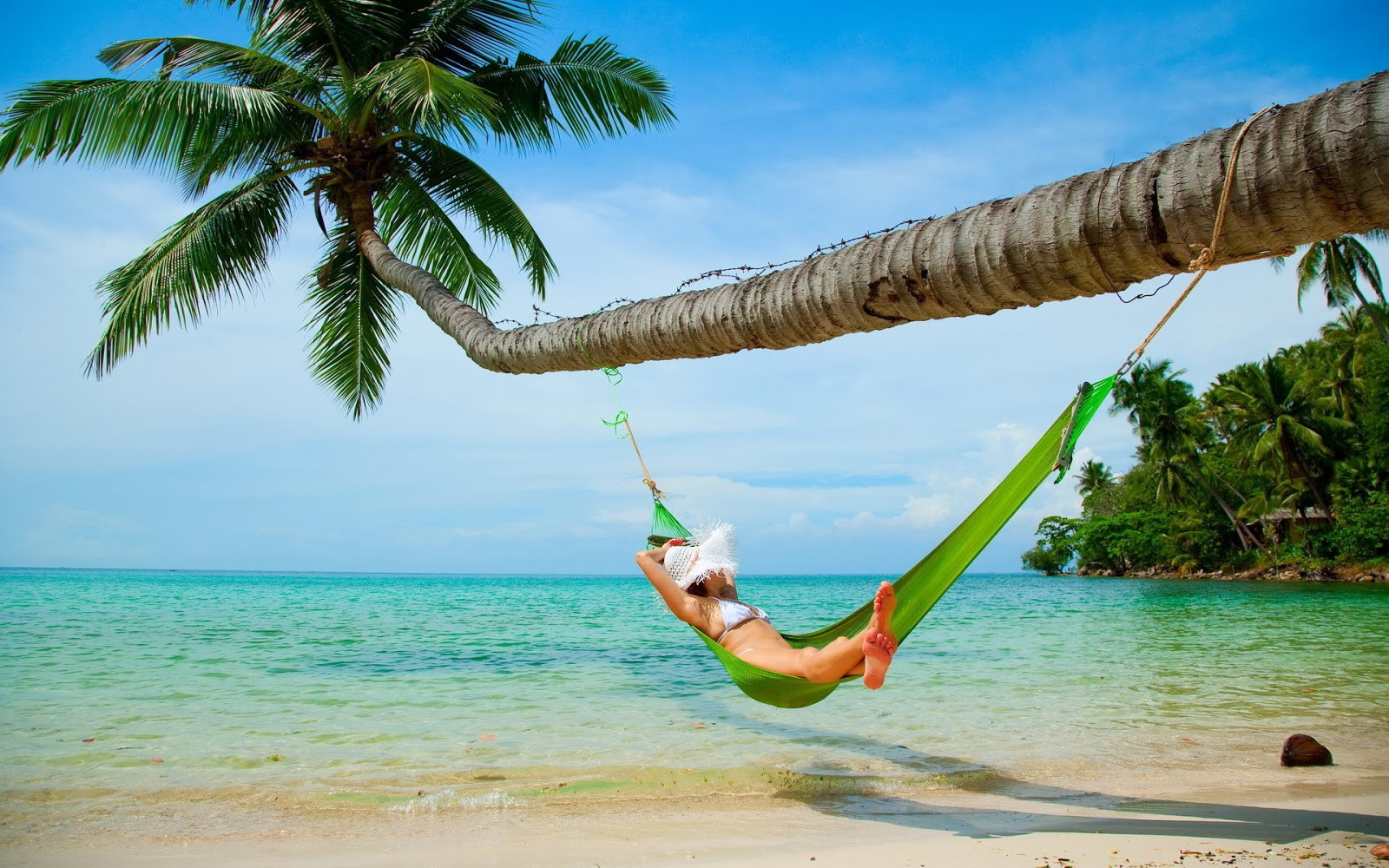 Hamaca En La Playa Brillante Woman Relaxing In Hammock Wallpapers 500 Collection Hd Of 48  Lujo Hamaca En La Playa