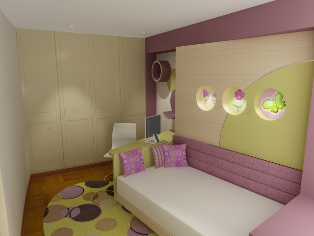 Ideas Para Decorar Dormitorios Magnífica Dormitorio Juvenil En Rosa Crema Y Verde Manzana O Of 48  Brillante Ideas Para Decorar Dormitorios