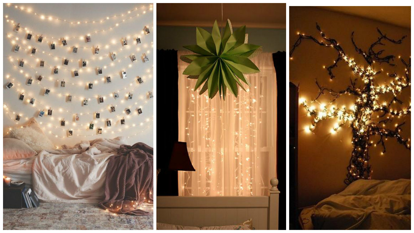 Ideas Para Decorar Tu Habitacion Impresionante Ideas Para Decorar Una Habitación Con Luces Navideñas Of 32  Adorable Ideas Para Decorar Tu Habitacion